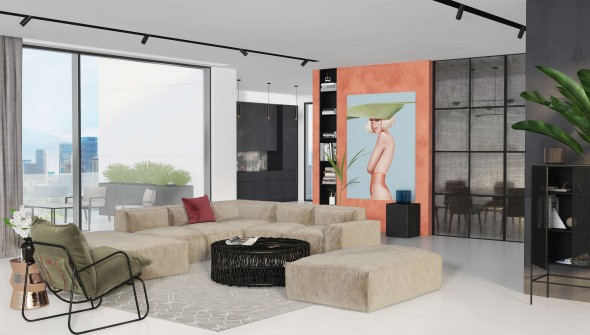 living-room-in-Sydney